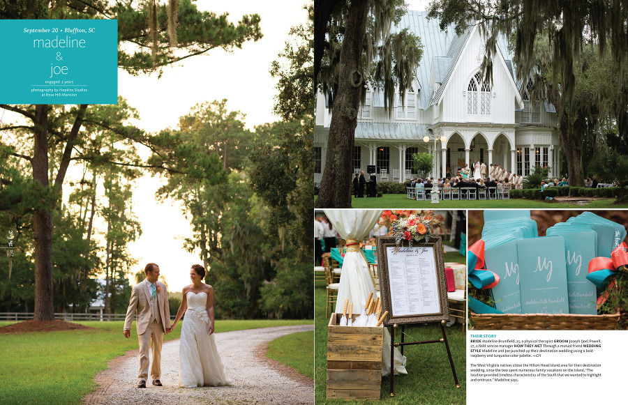 Our S Wedding Ceremony Took Place On The Front Steps Of Southern Plantation Style Mansion Followed By A Stunning Reception Designed